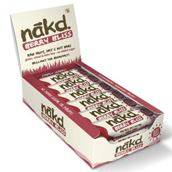 صورة BERRY BLISS - NAKD RAW FRUIT NUT BARS - 30G (PACK OF 18)