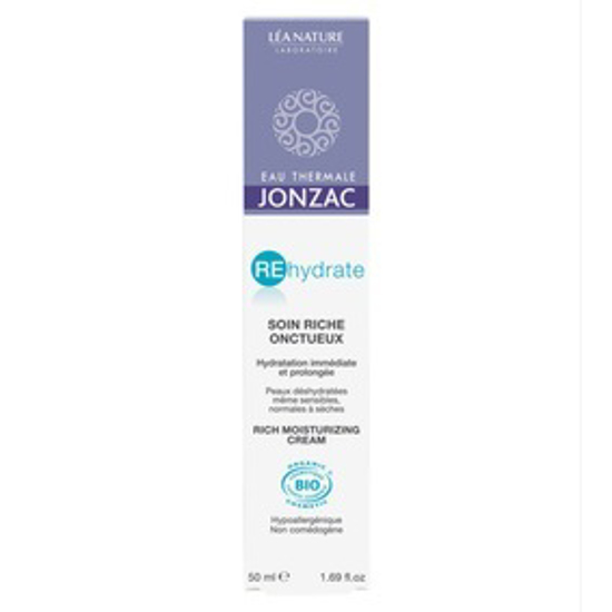 Picture of JONZAC RICH REHYDRATING CREAM - 50 ML