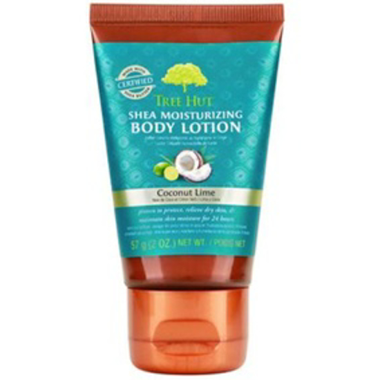 Picture of TREE HUT SHEA MOISTURIZING BODY LOTION COCONUT LIME, 2 OZ