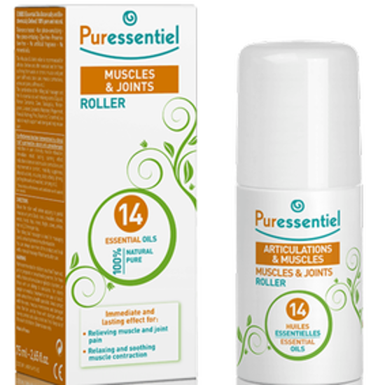 صورة PURESSENTIEL MUSCLE RELAXING ORGANIC MASSAGE OIL 100ML