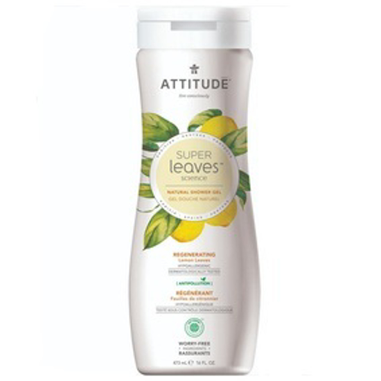 صورة ATTITUDE SUPERLEAVES REGENERATING SHOWER GEL 473MML:11292