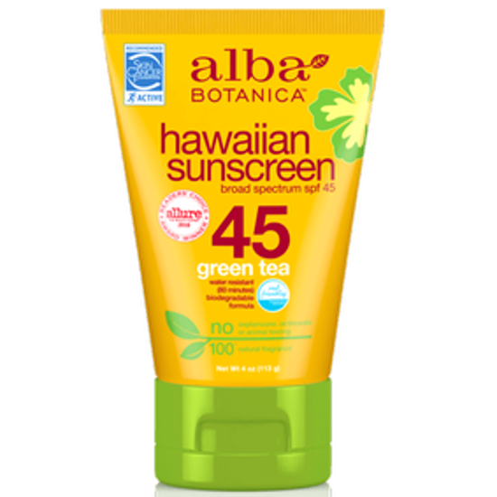 صورة ALBA SUNSCRN GREENTEA SPF45  113GM
