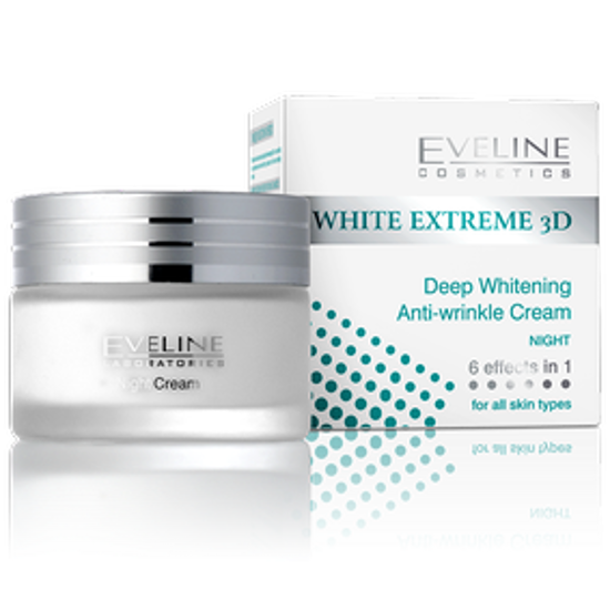 Picture of WHITE EXTREME 3D DEEP WHITENING NIGHT CRM 50ML:310828