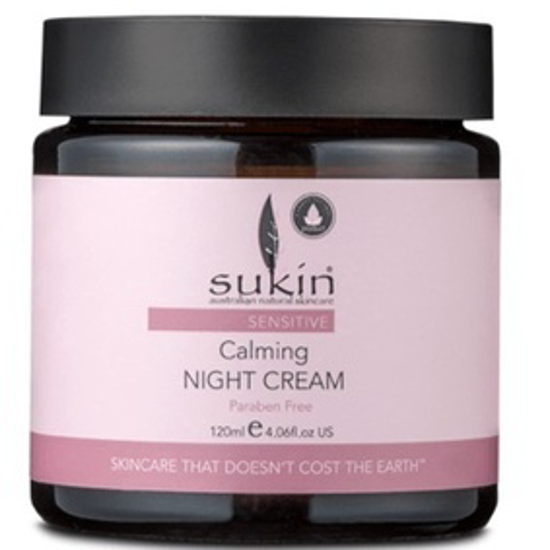 صورة SUKIN SENSITIVE CALMING NIGHT CREAM 120ML  : 03769