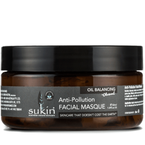صورة SUKIN OIL BLNCING CHAR ANTI-POLLUT FACIAL MASQUE 100ML:05367