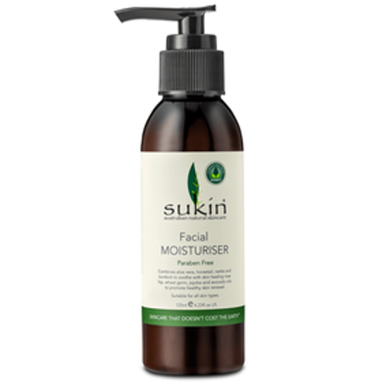 Picture of SUKIN FACIAL MOISTURISER 125ML : 00294