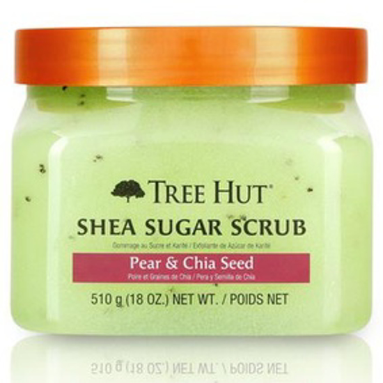 Picture of TREE HUT SHEA SUGAR SCRUB PEAR & CHIA SEED, 18OZ