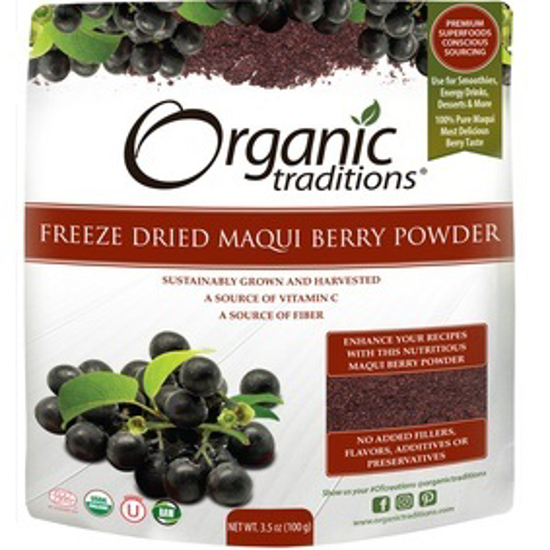 Picture of ORGANIC MAQUI BERRY POWDER 100 GM