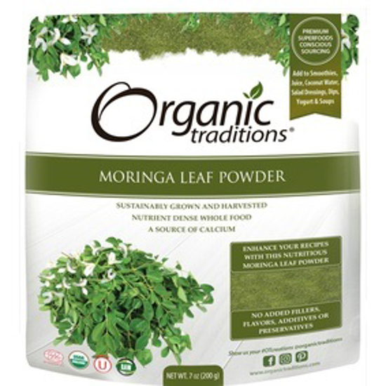 صورة ORGANIC MORINGA LEAF POWDER 200 GM