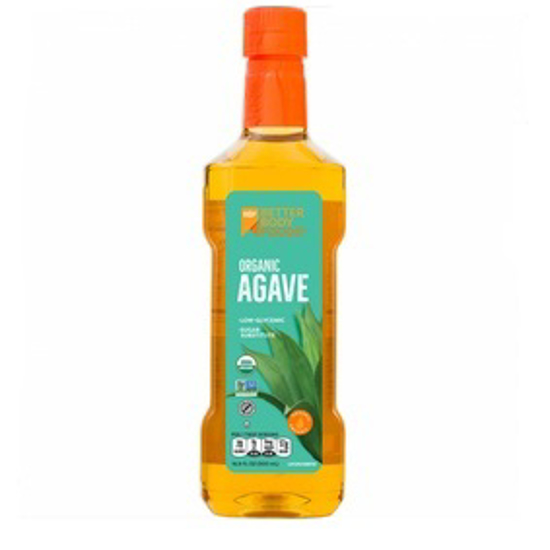 Picture of BETTER BODY FOODS ORGANIC AGAVE NECTAR 709 GRAMS