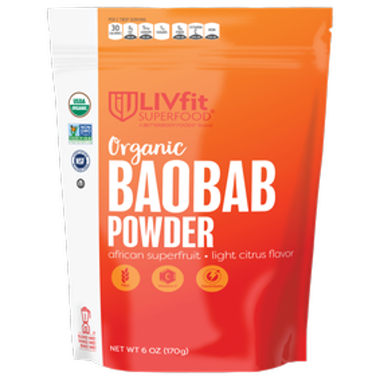 Picture of BETTER BODY FOODS ORGANIC BAOBAB POWDER 170 GRAMS