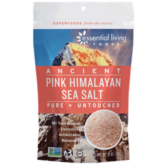 صورة ESSENTIAL LIVING FOODS HIMALAYAN SEASALT FINE 16OZ