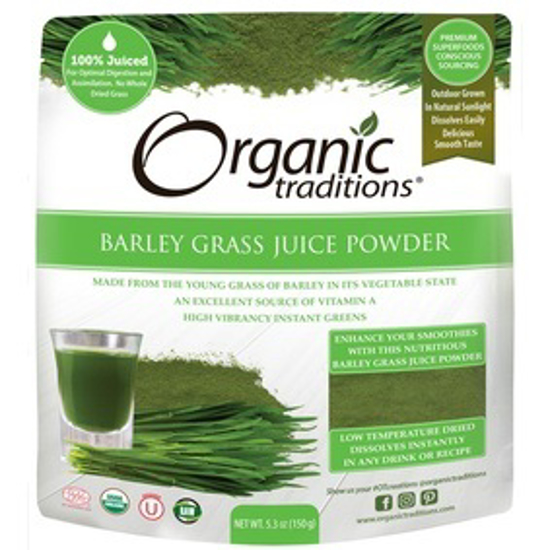 Picture of ORGANIC BARLEY GRASS JUICE POWDER 150 GM