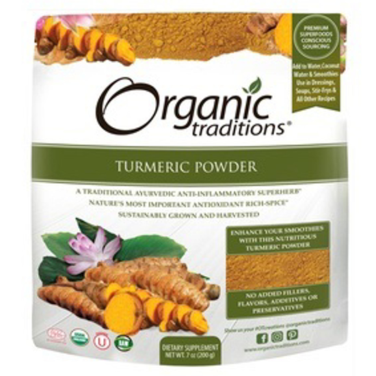 صورة ORGANIC TURMERIC POWDER 200 GM