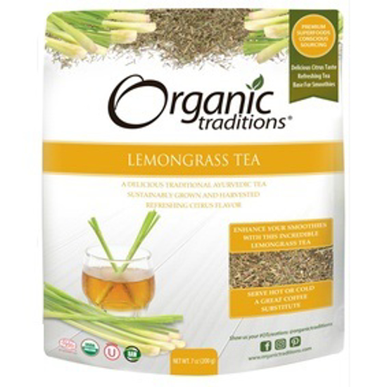 Picture of ORGANIC LEMONGRASS TEA CUT 200 GM