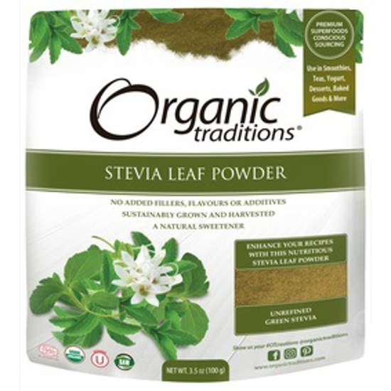 Picture of ORGANIC GREEN LEAF STEVIA POWDER 100 GM