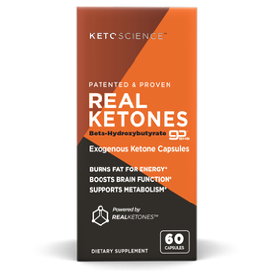 Picture of KETOSCIENCE REAL KETONES 60 CAPSULES