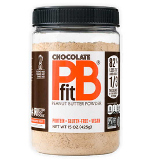 Picture of BETTER BODY FOODS PB FIT FOODSIT PEANUT BUTTER POWDER CHOCOLATE  425G