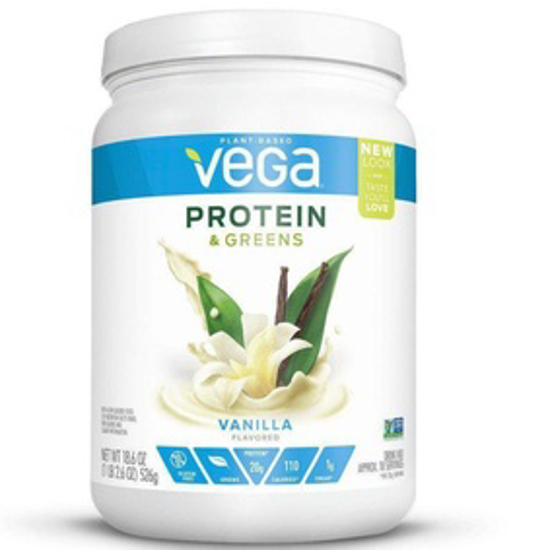 صورة VEGA PROTEIN & GREENS FRENCH VANILLA 18.6OZ