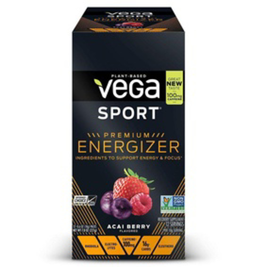 Picture of VEGA SPORT PREMIUM ENERGIZER ACAI BERRY 18G PACK OF 12