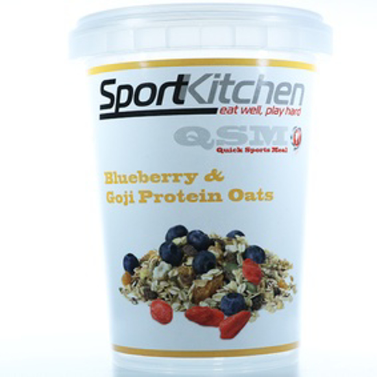 Picture of SPORTS KITCHEN PROTIEN OATS - BLUE BERRY&GOJI