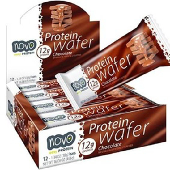 صورة NOVO PROTIEN WAFER - MILK CHOCLATE