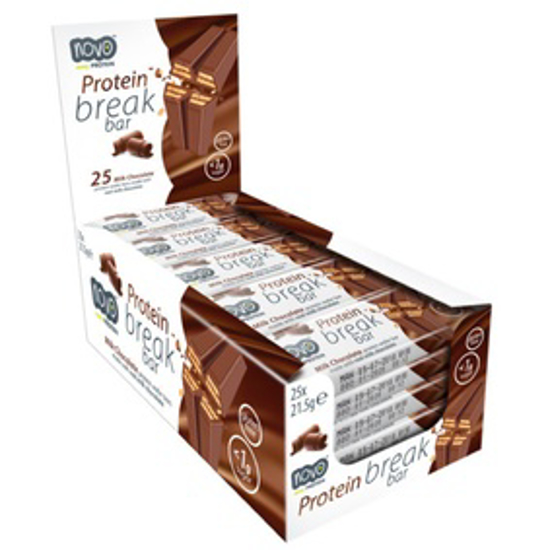 Picture of NOVO BREAK BAR - MILK CHOCLATE