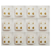 Picture of Studex® 12 Pairs (Dozen pack) 24ct Gold Plated Shapes Star Regular: DZ-R501Y