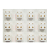 صورة Studex® 12 Pairs (Dozen pack) 24ct Gold Plated Shapes Starlite Regular: DZ-R501Y-4