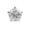 Picture of Studex® 12 Pairs (Dozen pack) Stainless Steel Cubic Zirconia Tiffany Large: DZ-L100W