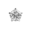 Picture of Studex® 12 Pairs (Dozen pack) Stainless Steel Cubic Zirconia Tiffany Mini: DZ-M100W