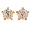 صورة Studex® Select™ 24ct Gold Plated Crystals Tiffany April Crystal Large: PR-L104Y-STX