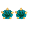 صورة Studex® Select™ 24ct Gold Plated Crystals Tiffany December Blue Zircon Regular: PR-R112Y-STX