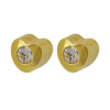 Picture of Studex® Select™ 24ct Gold Plated Heartlite Regular: PR-R502Y-4-STX