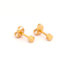 Picture of Studex® Select™ 24ct Gold Plated Shapes Flower Regular: PR-R508Y-STX