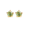 Picture of Studex® Select™ 24ct Gold Plated Crystals Tiffany August Peridot Crystal Regular: PR-R108Y-STX
