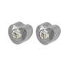 صورة Studex® Select™ Stainless Steel Heartlite Regular: PR-R502W-4-STX
