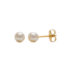 Picture of Studex® Sensitive™ 24ct Gold Plated 5mm White Pearl: S675STX