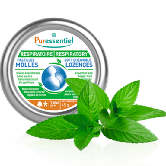 صورة PURESSENTIEL BREATHING SOOTHING GUMS 45G