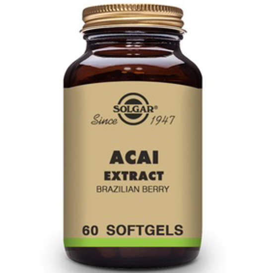 صورة SOLGAR ACAI EXTRACT (BRAZILIAN BERRY) 60 SOFTGELS