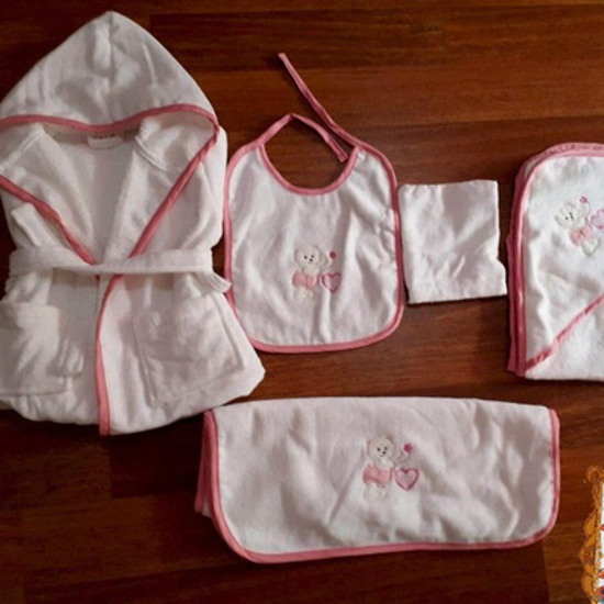 Picture of Baby GIRL Towels Set