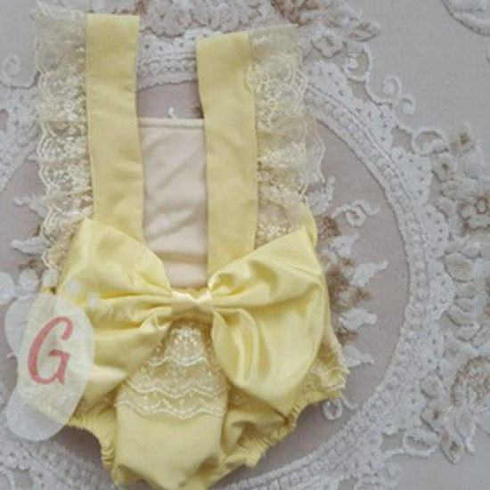 صورة YALOW   BABY GIRL DRESS