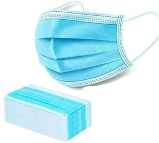 Picture of Ear Loop 3ply Surgical Mask 50 pcs one Box